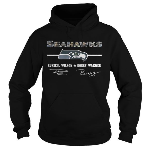 Seattle Seahawks Russell Wilson Bobby Wagner shirt Hoodie