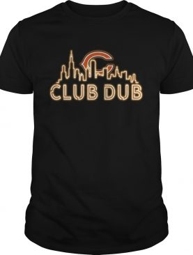 Club Dub Chicago bear shirt
