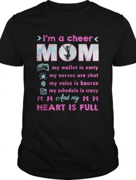 Im A Cheer MomIm My Wallet Is Empty Nerves Are Gildan Shirt