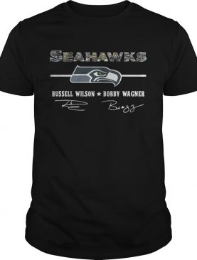 Seattle Seahawks Russell Wilson Bobby Wagner shirt