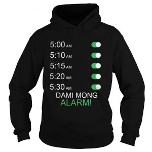 Official Dami Mong Alarm Shirt Ladies V-Neck