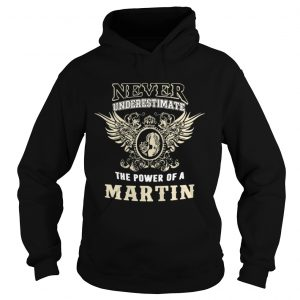 Never underestimate the power of a Martin shirt Ladies V-Neck