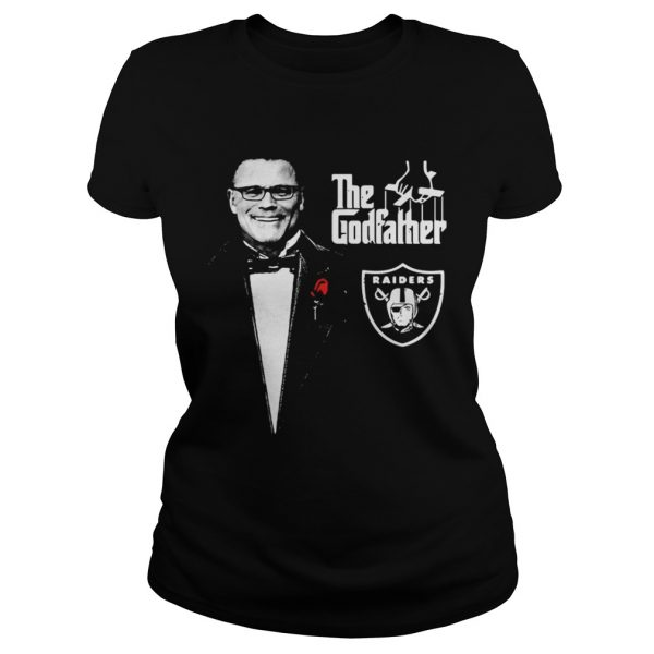 Howie Long The Godfather Oakland Raiders shirt Classic Ladies Tee