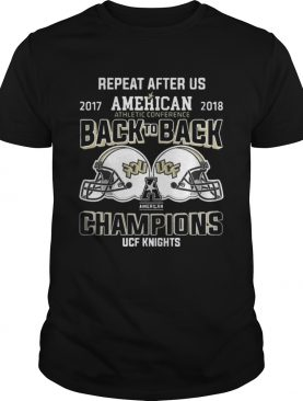 UCF Knights 2018 AAC College Football Champions Shirt