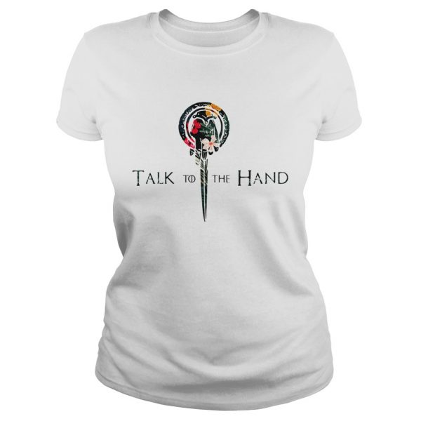 Hibiscus Hand of the King talk to the hand Game of Thrones  Classic Ladies