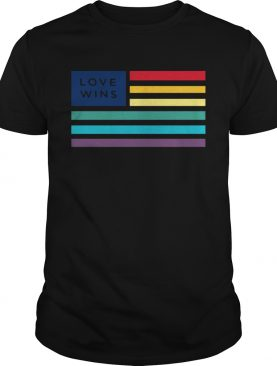 LGBT flag love wins shirt LlMlTED EDlTlON