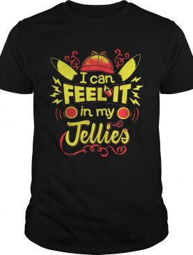 Pikachu I can feel it in my jellies shirt