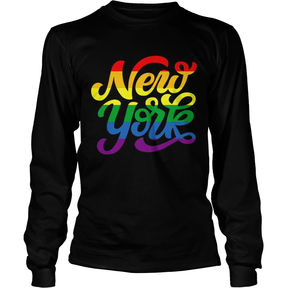 Rainbow New York NYC World Pride LGBT 2019  LongSleeve