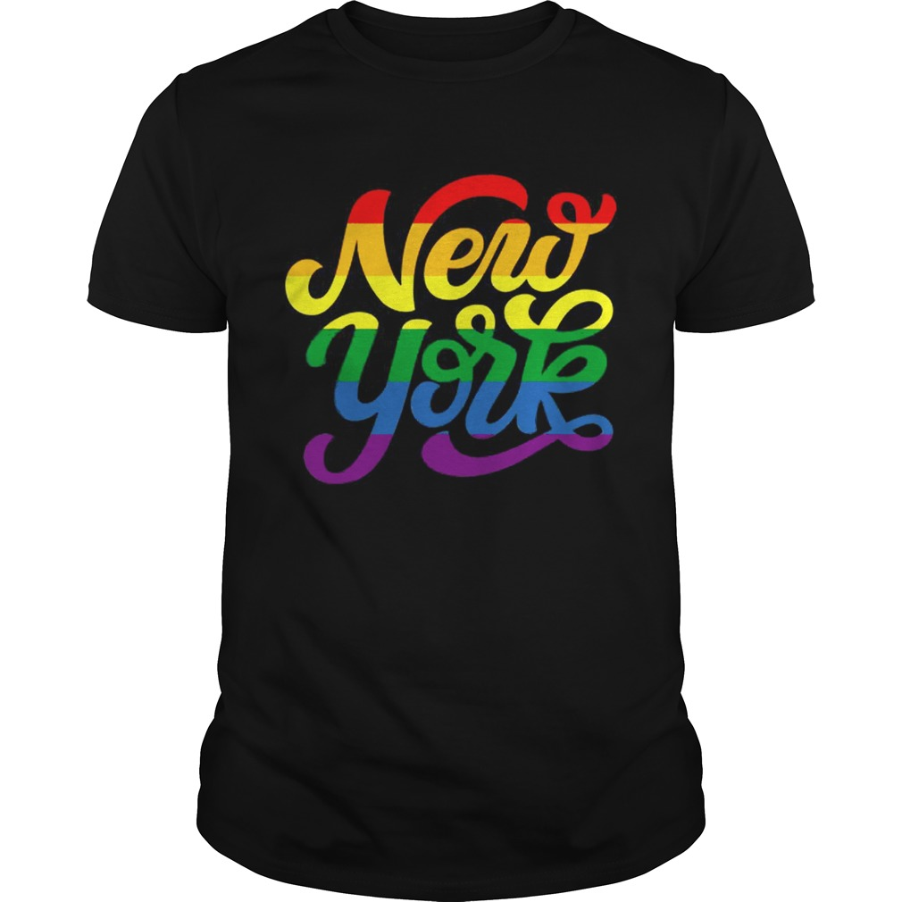 Rainbow New York NYC World Pride LGBT 2019  Unisex