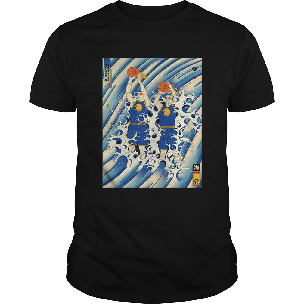 new concept 08ec4 e8c1d Steph Curry and Klay Thompson Splash Brothers shirt