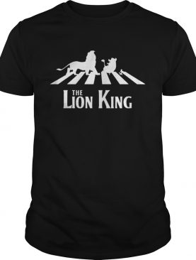 The Lion King Group Of Friends Crossing The Street TShirt