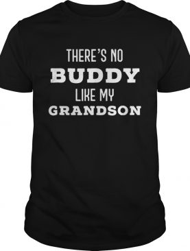 Theres No Buddy Like My Grandson Father Day shirt