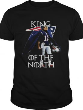 Tom Brady New England Patriots 12 King of the North shirt