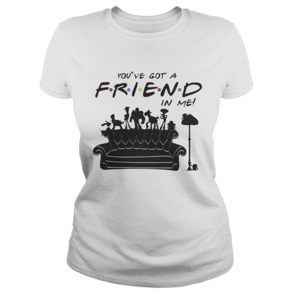 Toy Story Group Of Friends Youve Got A Friends in Me TShirt Classic Ladies