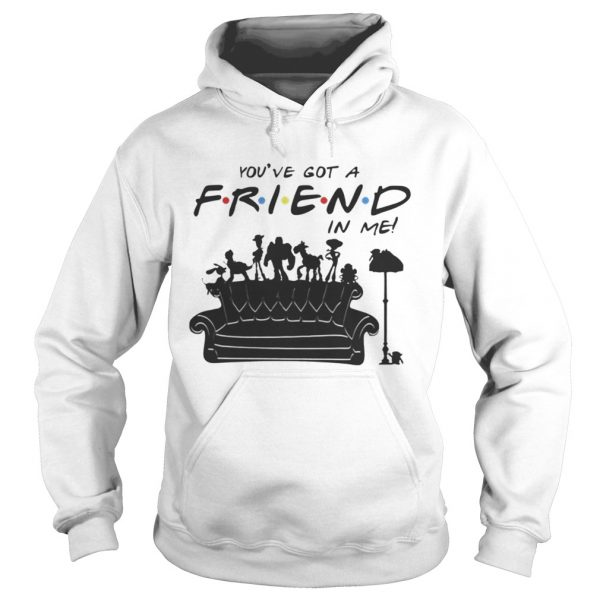 Toy Story Group Of Friends Youve Got A Friends in Me TShirt Hoodie