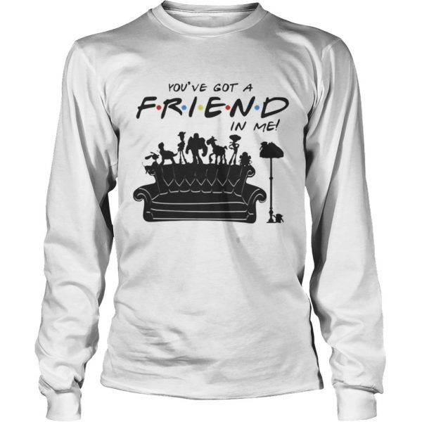 Toy Story Group Of Friends Youve Got A Friends in Me TShirt LongSleeve