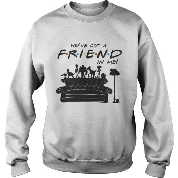 Toy Story Group Of Friends Youve Got A Friends in Me TShirt Sweatshirt