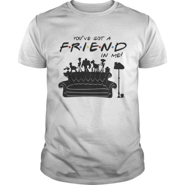 Toy Story Group Of Friends Youve Got A Friends in Me TShirt Unisex