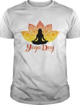 Yoga Day 21th June 2019 shirt