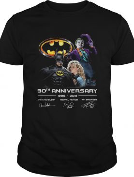 30th anniversary Jack Nicholson Michael Keaton and Kim Basinger 19892019 shirt