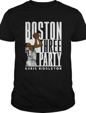 Boston three party Khris Middleton shirt