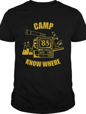 Camp know where Stranger things shirt