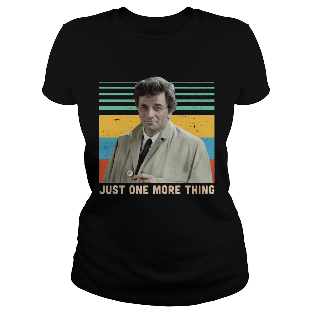 Columbo just one more thing vintage  Classic Ladies