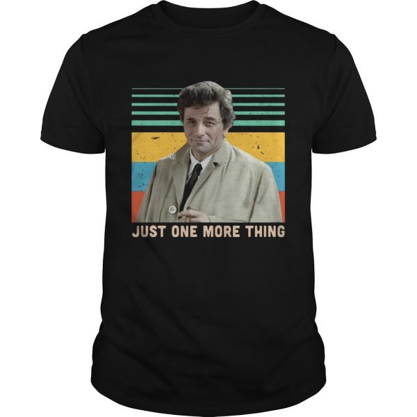Columbo just one more thing vintage  Unisex