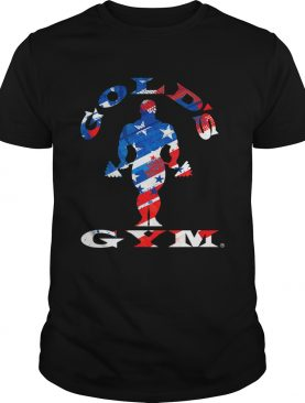 Golds Gym Americana shirt