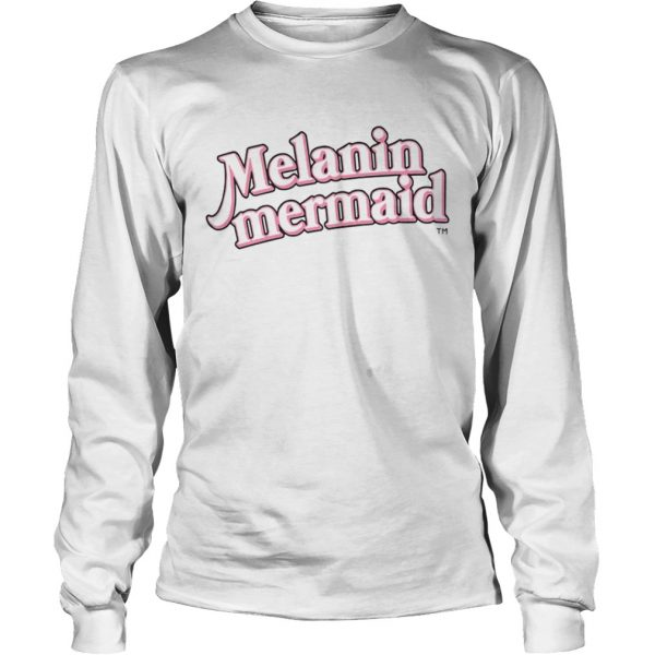 Melanin Mermaid Shirt LongSleeve