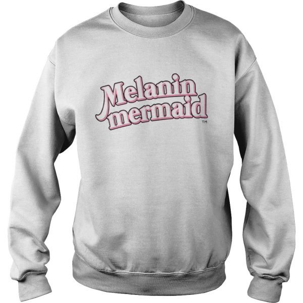 Melanin Mermaid Shirt Sweatshirt
