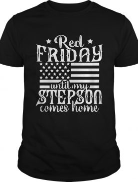 Red Friday Support Military Family Son shirt