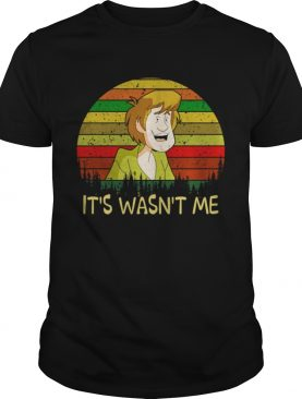 Shaggy Rogers ScoobyDoo its wasnt me shirt