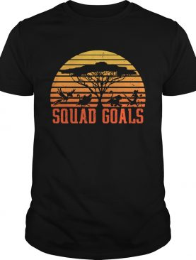 The Lion King Squad Goals sunset shirt
