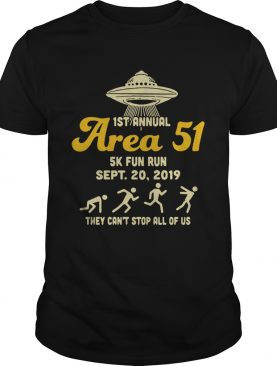 UFO 1st Area 51 5k fun run Sept 20 2019 they cant stop all of us