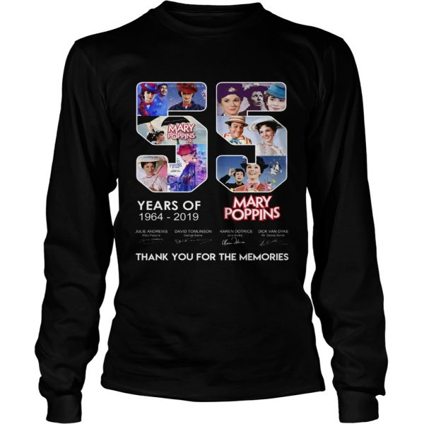 55 years of Mary Poppins 2019 thank you  LongSleeve