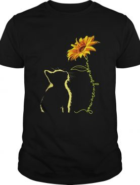 Awesome Cat You Are My Sunshine Sunflower shirt