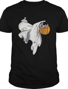 Awesome Happy Daboween Scary Ghost Halloween Dabbing Trick Dab shirt