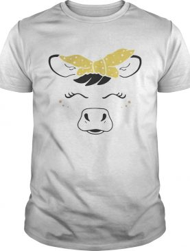 Cow bow shirt