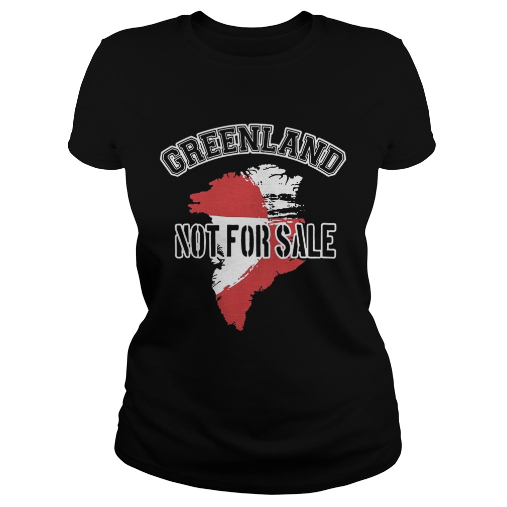 Greenland Not For Sale t Classic Ladies
