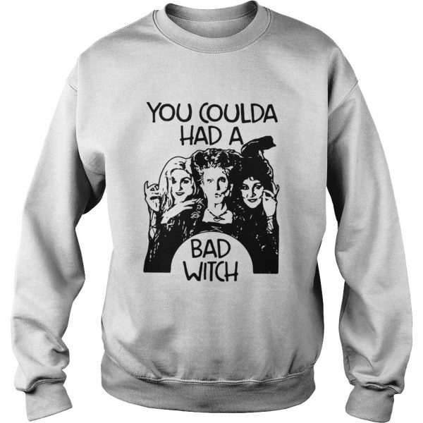 Hocus Pocus You coulda had a bad witch  Sweatshirt