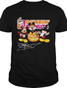 Mickey Mouse Dunkin Donuts Halloween shirt