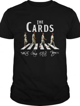 The Cards St Louis Cardinals crosswalk shirt