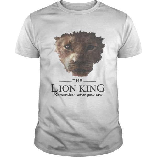 The Lion King remember who you are  Unisex