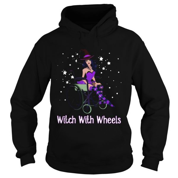Witch with wheels  Hoodie