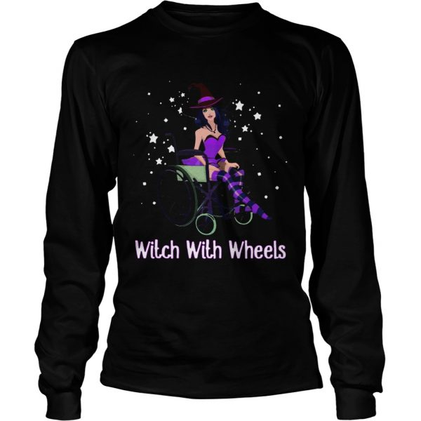 Witch with wheels  LongSleeve