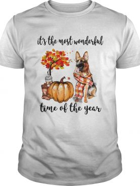 Alsatian its the most wonderful time of the year shirt