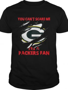 Green Bay Packers you cant scare me Im a Packers fan shirt