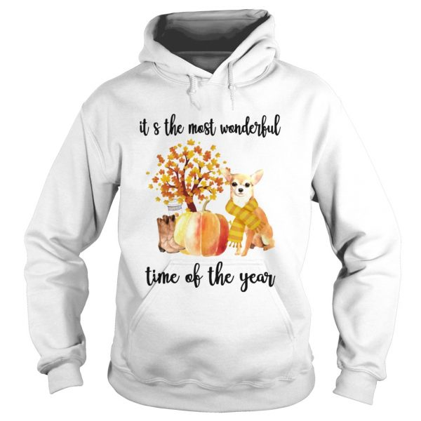 Halloween Chihuahua Its The Most Wonderful Time Of The Year Shirt Hoodie