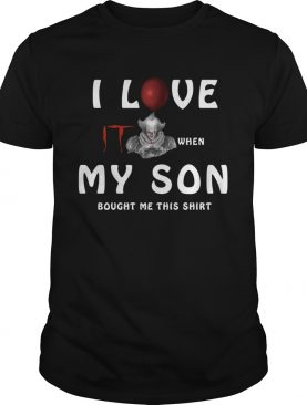 I love IT when my son bought me this shirt